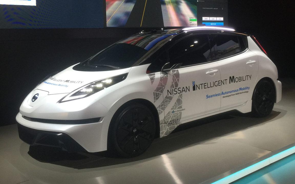 Nissan usa tecnología de la NASA para crear su auto autónomo