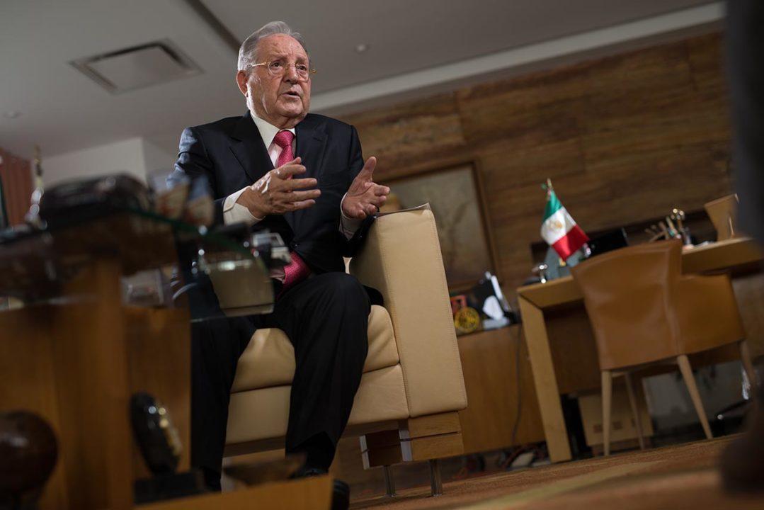 El día en que Olegario Vázquez negó conspirar contra López Obrador