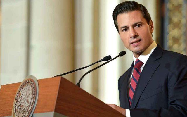 Peña Nieto Anuncia cuando bajará el combustible