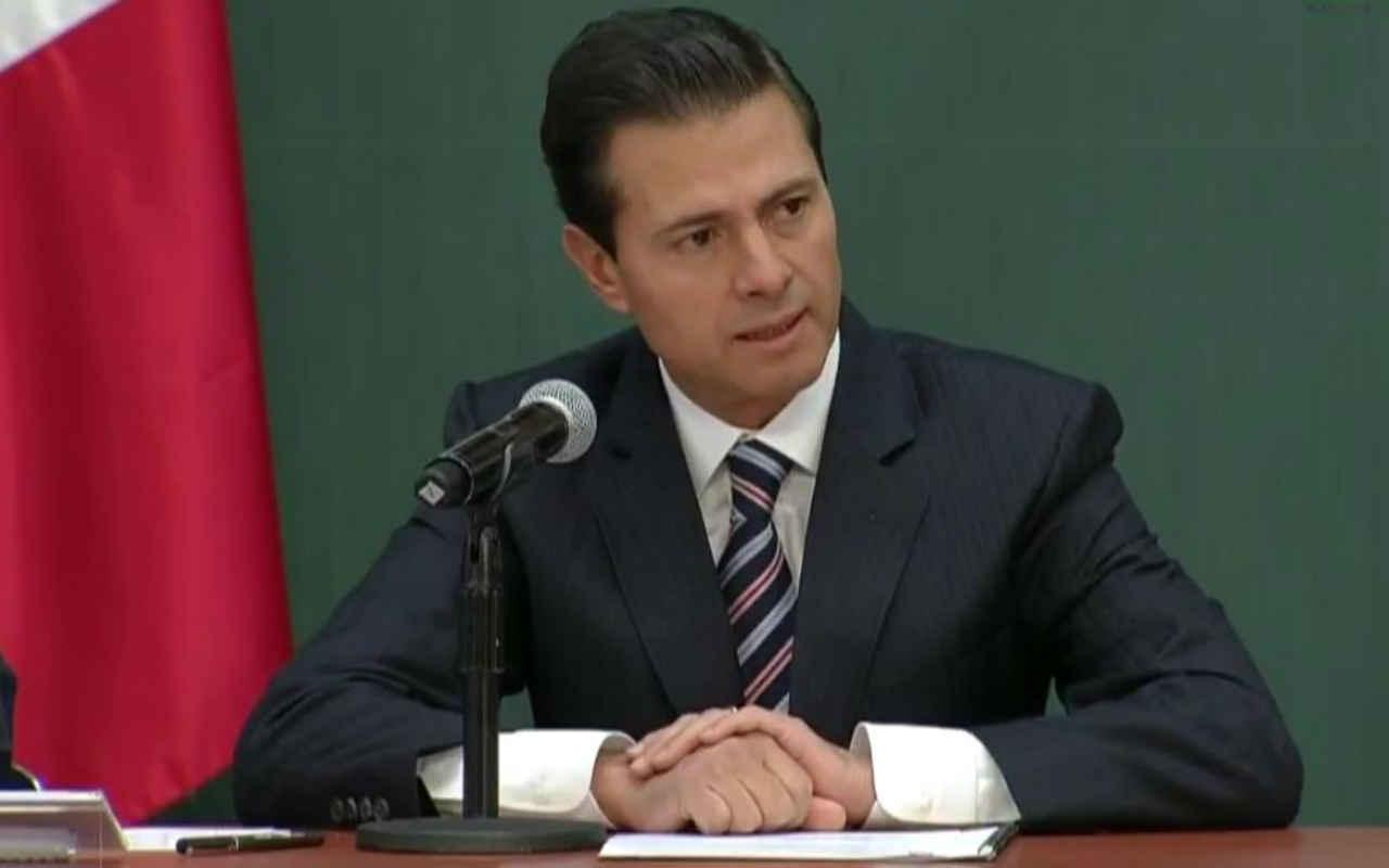 Peña Nieto recibe a los secretarios Tillerson y Kelly en Los Pinos