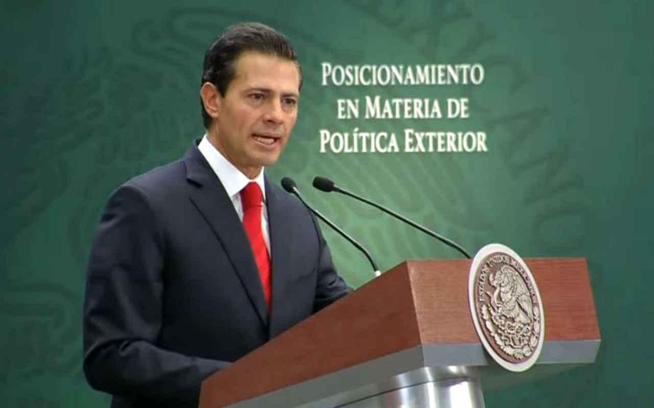 Peña Nieto se pronuncia sobre relación con Estados Unidos