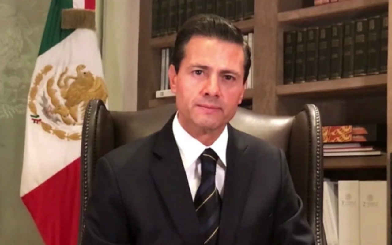 Enrique Pena Nieto ASF 2018
