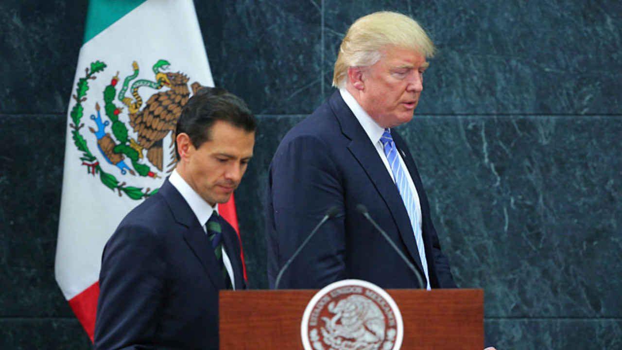 Se cancela primera visita de Peña Nieto a la Clasa Blanca en el gobierno de Trump