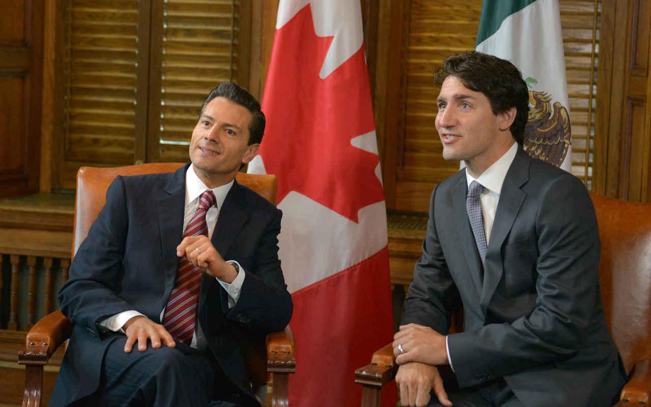 Peña y Trudeau hablan para sumar rechazo a aranceles de Trump