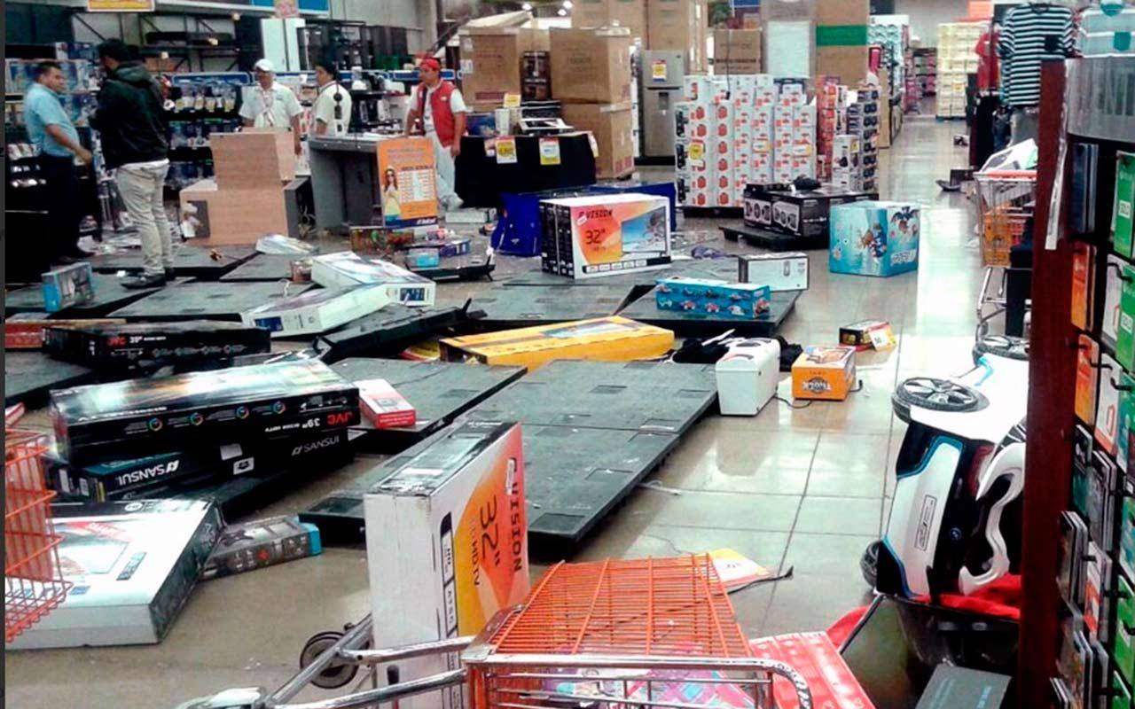 Aseguradoras reembolsarán a comercios afectados por saqueos