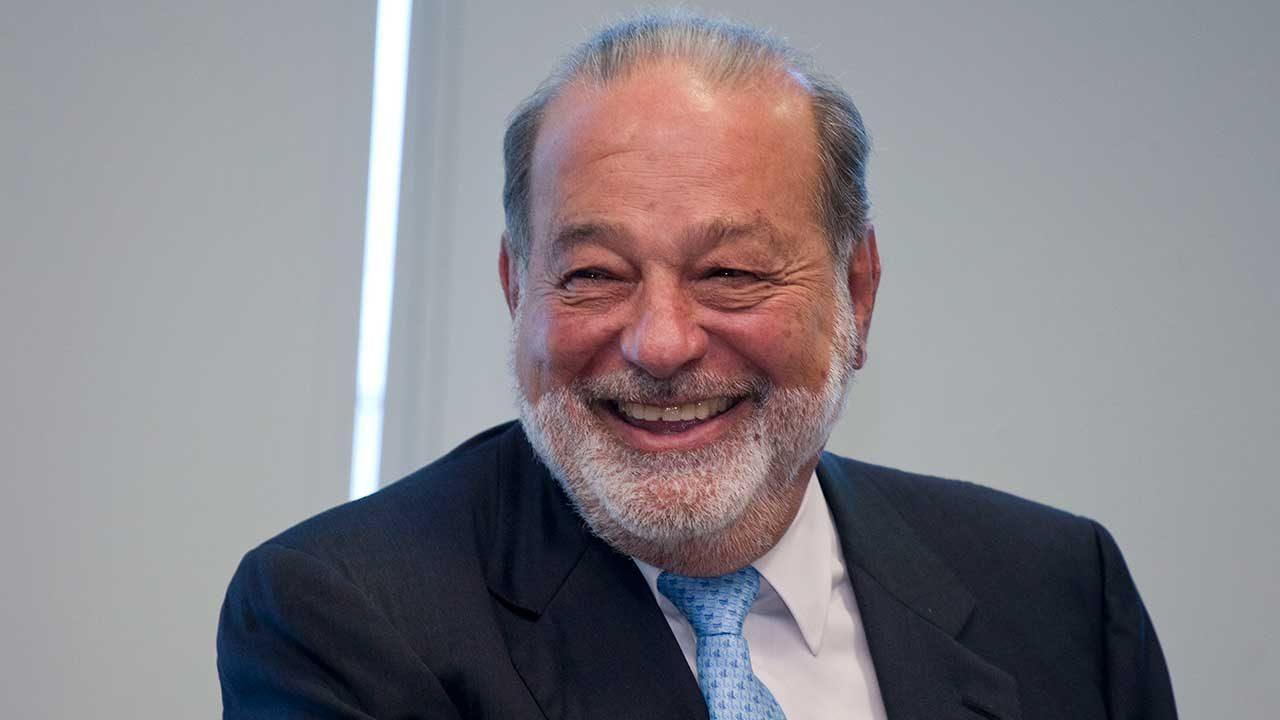 La (itinerante) fortuna de Carlos Slim