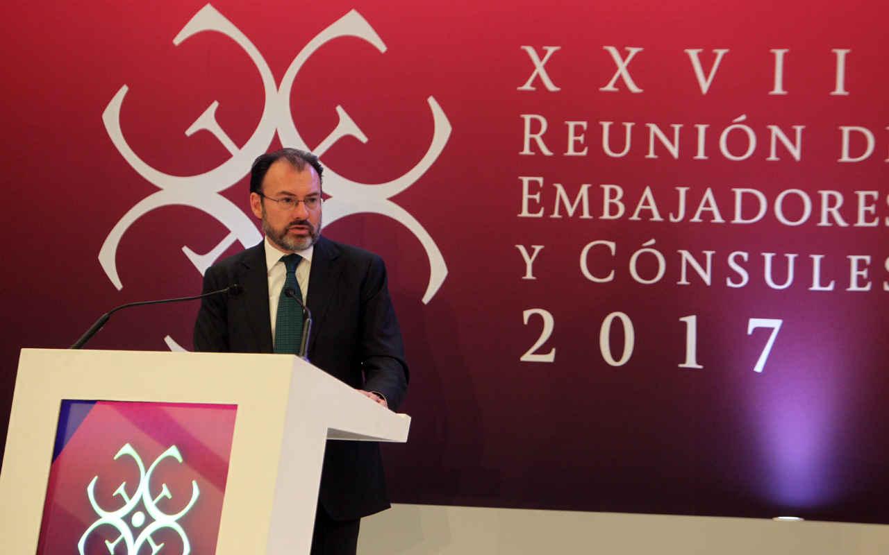 Sin miedo y con inteligencia, negociaremos con EU: Videgaray