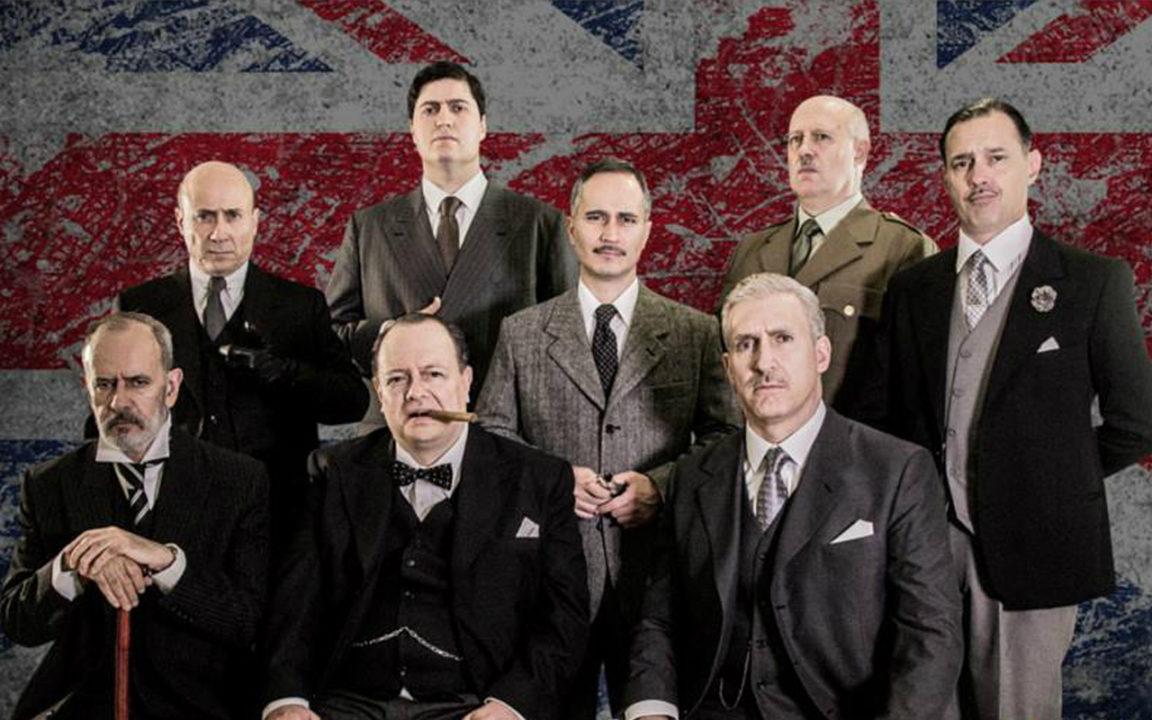 Churchill vuelve a revivir en el Teatro Julio Prieto