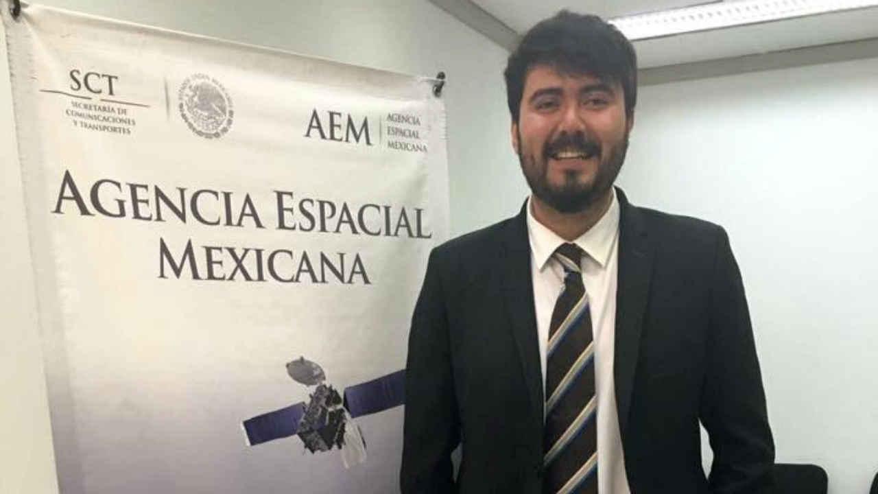 El alumno de la UNAM que es el líder más joven para la investigación espacial