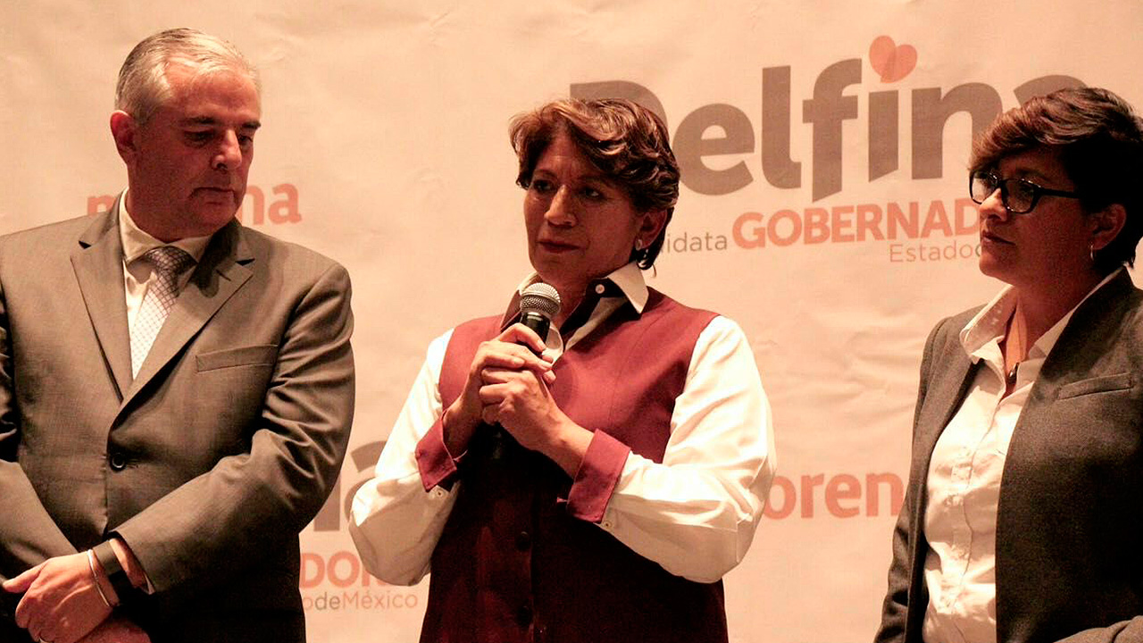 Multa a Morena demuestra nervios de PRI y PAN, responde Delfina Gómez