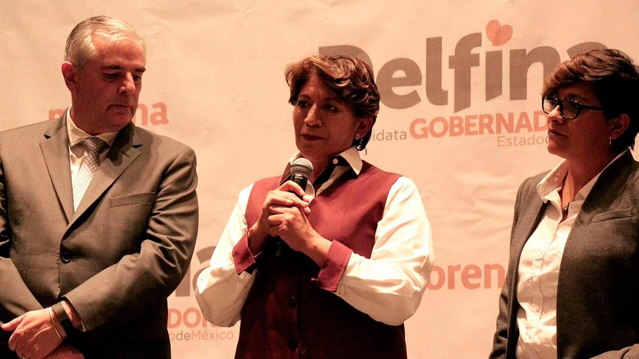 López Obrador proclama victoria de Delfina Gómez