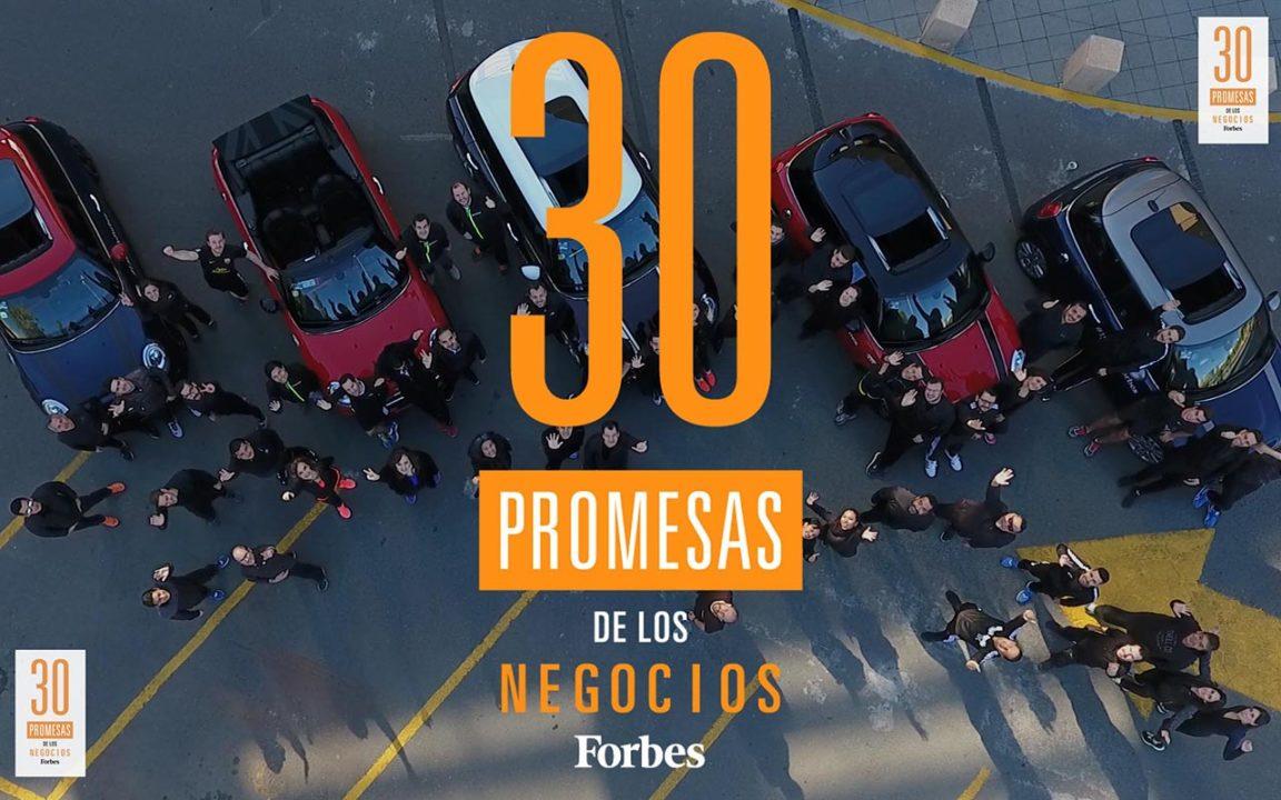 Las 30 promesas de los negocios Forbes 2017