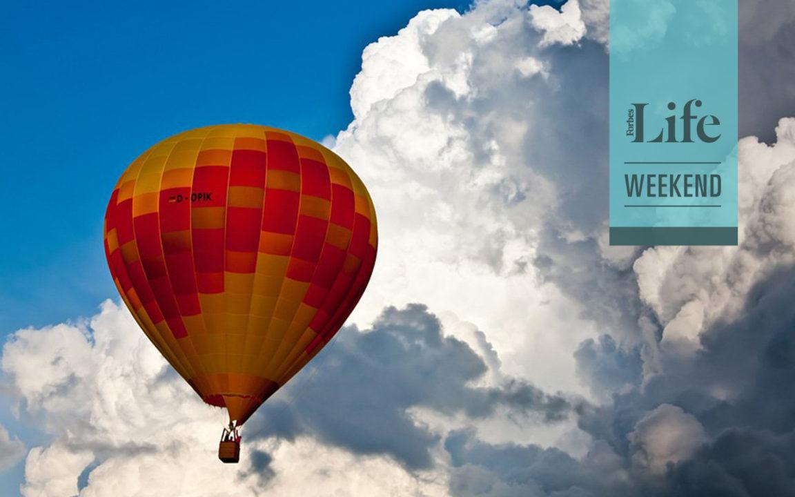 Destinos ideales para pasear en globo aerostático