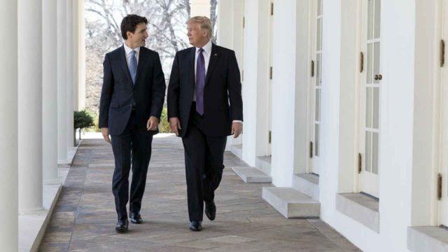 Trudeau-Trump