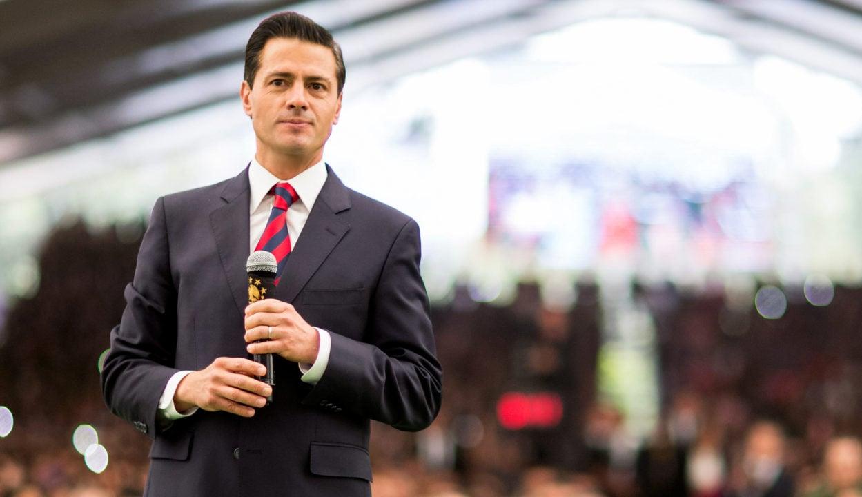 Alcalde de San Salvador insulta al presidente Peña Nieto