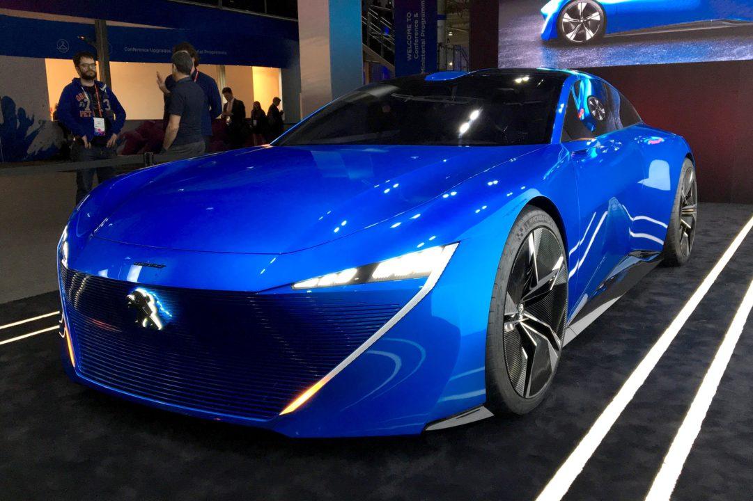 Peugeot Instinct, el super auto francés autónomo y conectado
