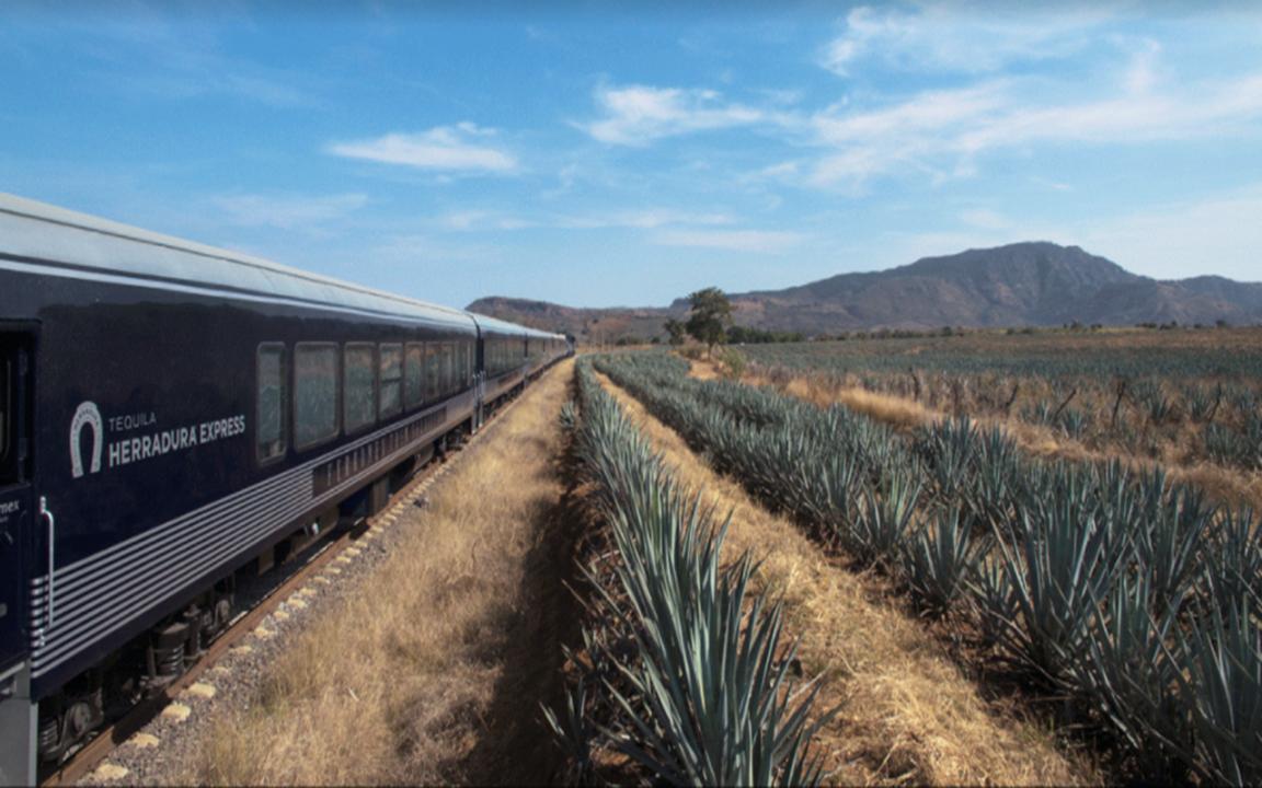 Herradura lanza el nuevo tren del tequila