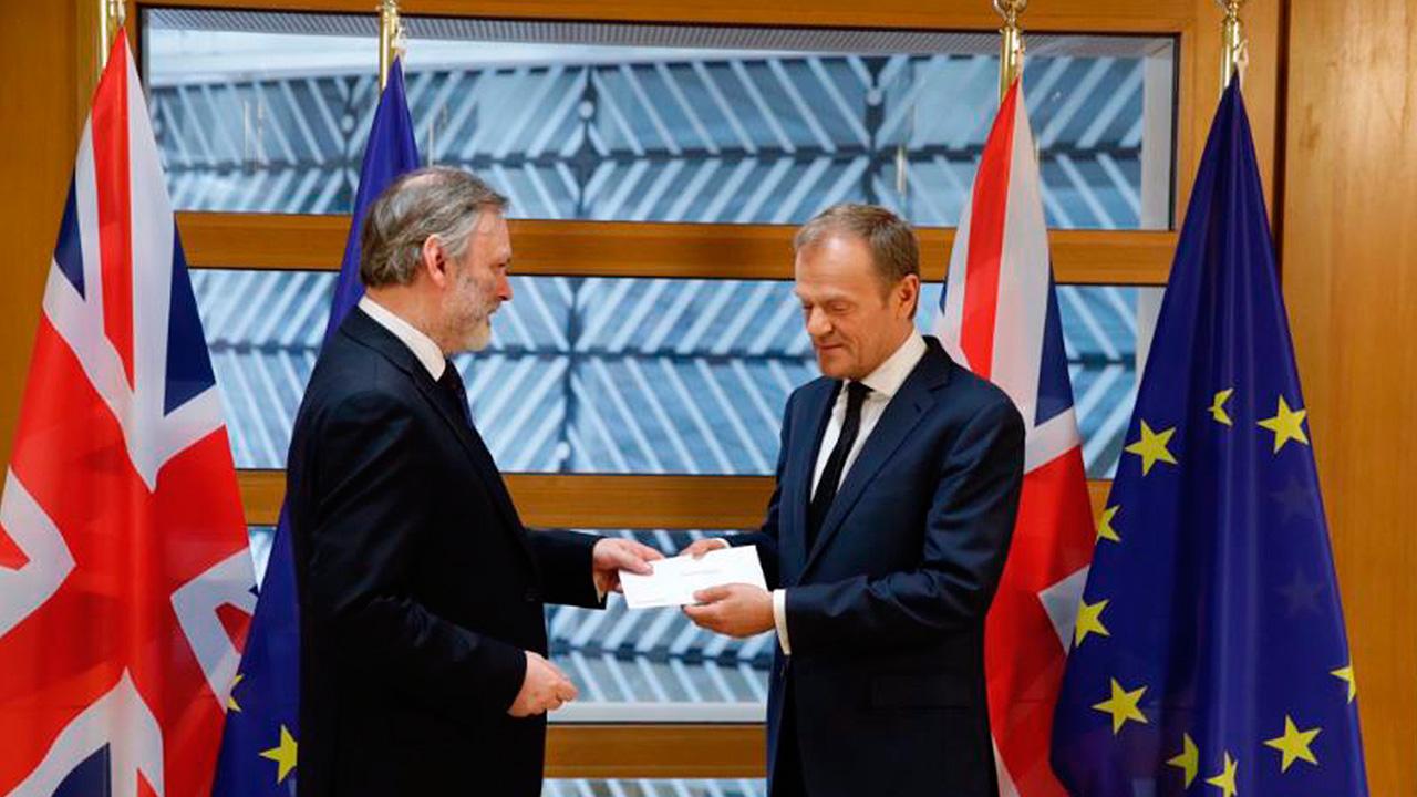 Reino Unido dice adiós a la UE: activa formalmente el Brexit
