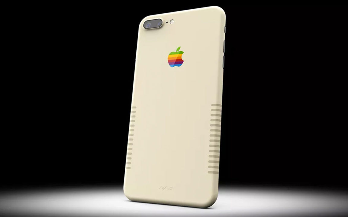 Ahora el iPhone 7 tiene una versión retro