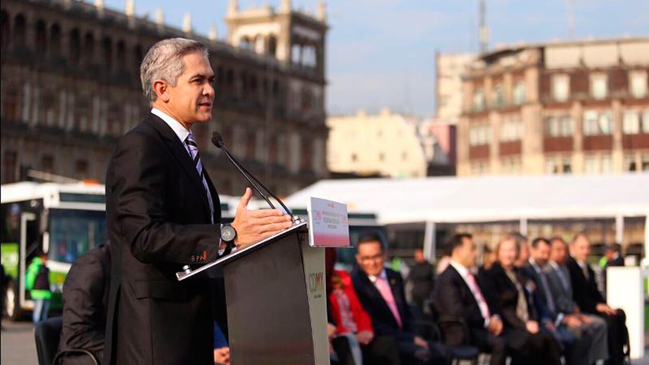 Mancera sigue sin definir fecha para dejar Gobierno de la CDMX