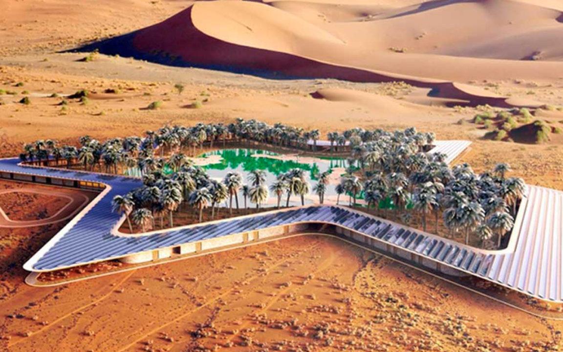 Este será el resort de lujo más ecológico del mundo