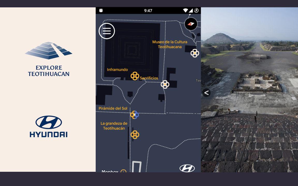 Esta app trae al presente la historia y cultura de Teotihuacán