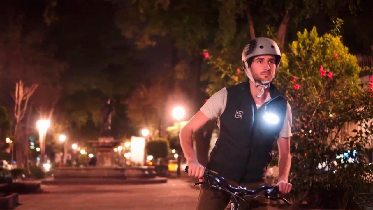 Tuibo: la apuesta de tres mexicanos para salvar la vida de ciclistas