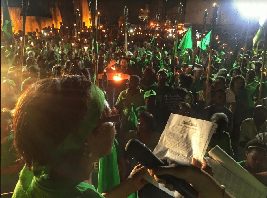 Así se financia este movimiento contra la corrupción en RD