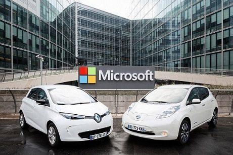 Microsoft trabajará con Renault-Nissan en conducción intuitiva