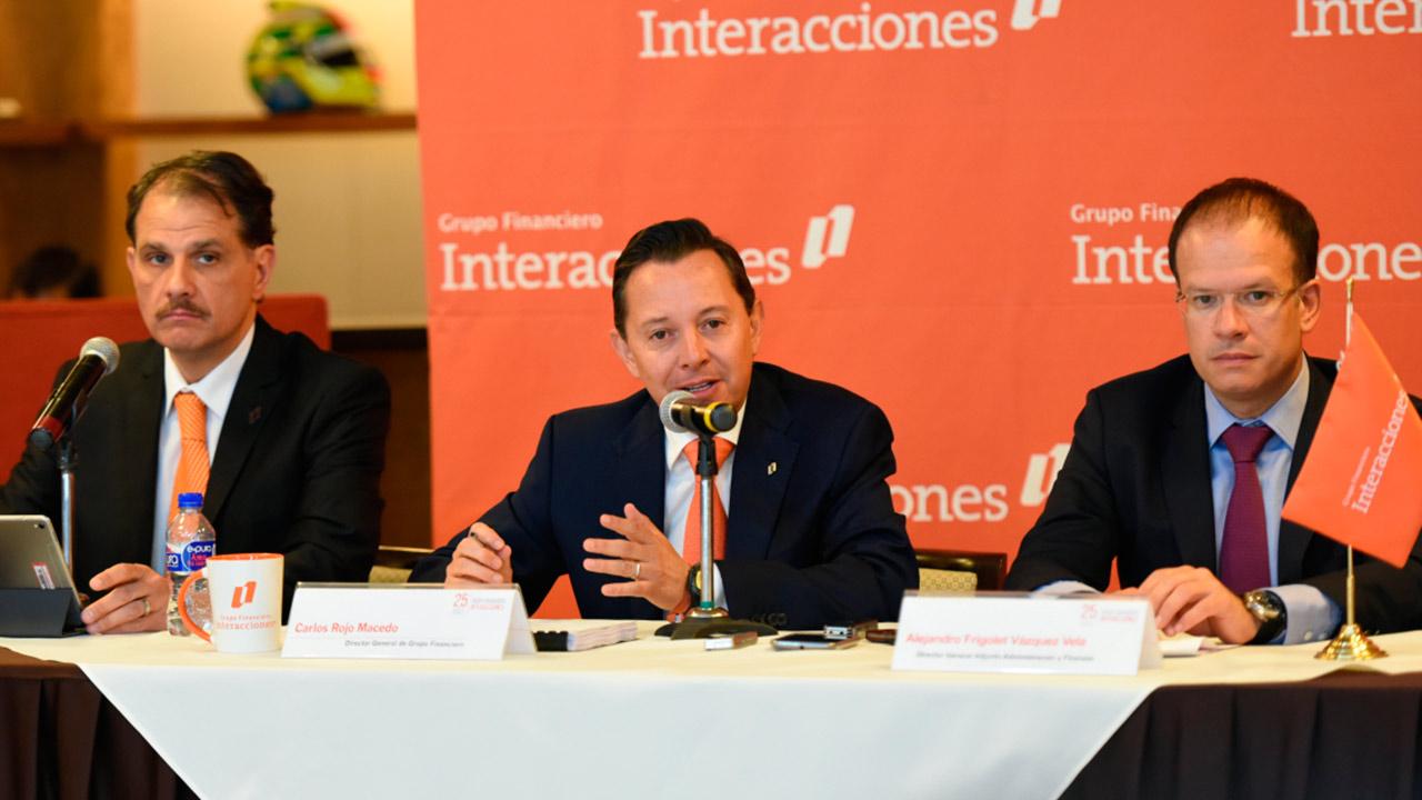 Ganancias de Interacciones crecen 21.65% en primer trimestre