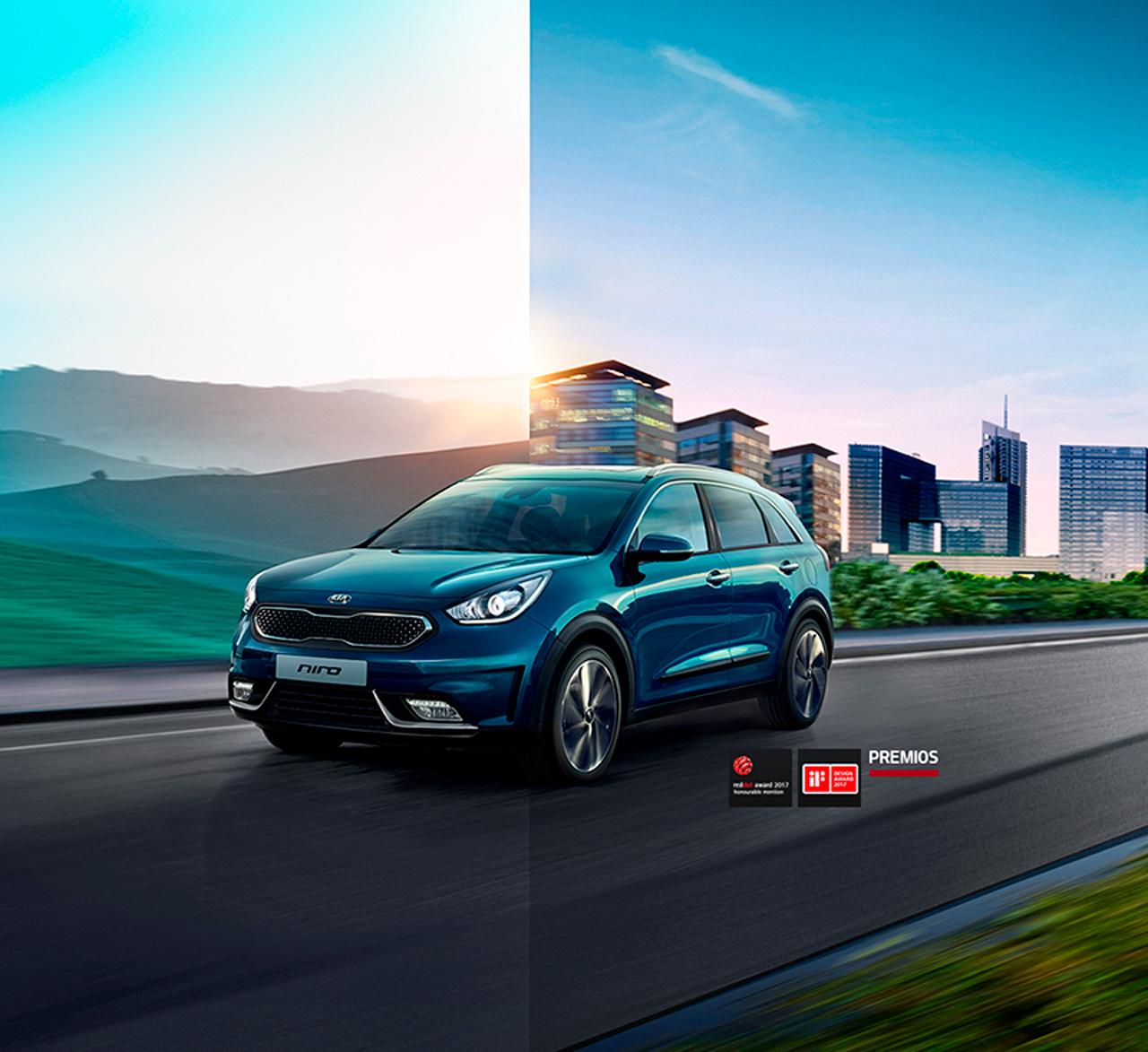 KIA Niro, la SUV híbrida con un rendimiento máximo de 27.4 km/l