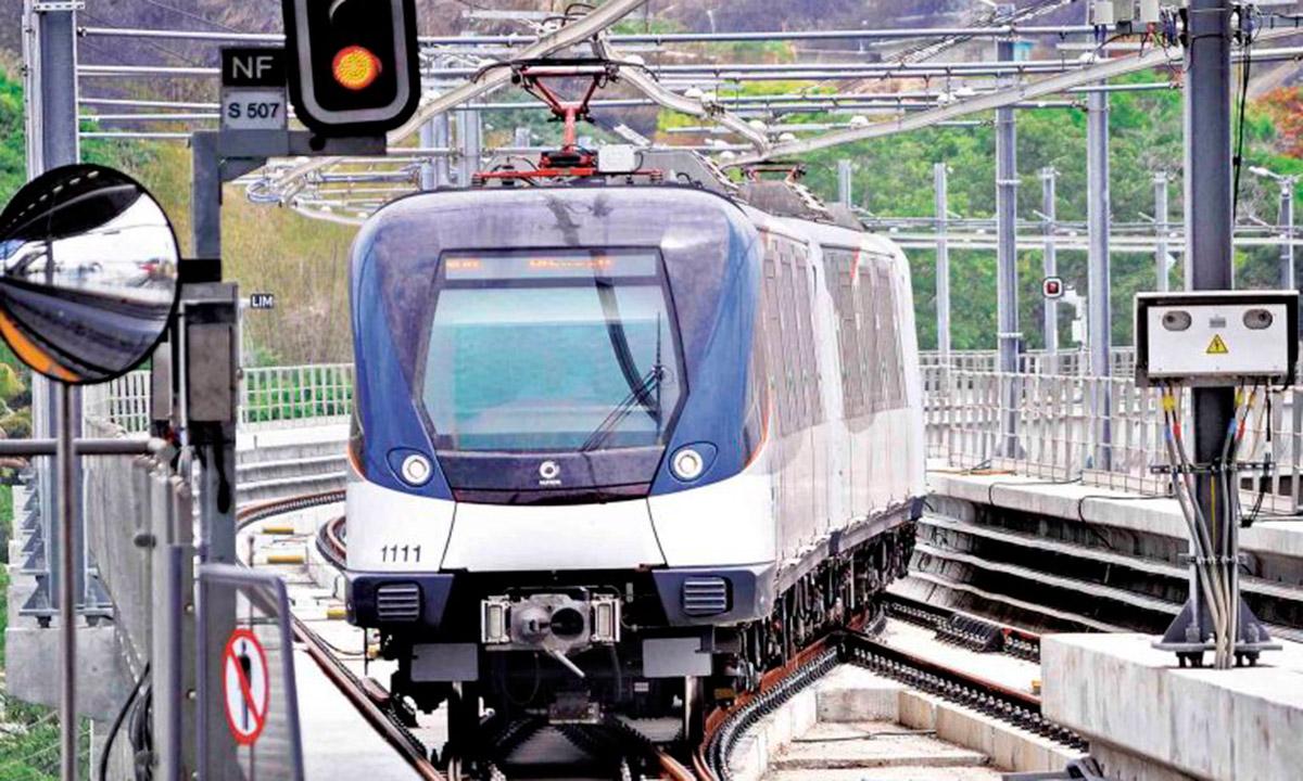 Llegan nuevos vagones del Metro de Panamá