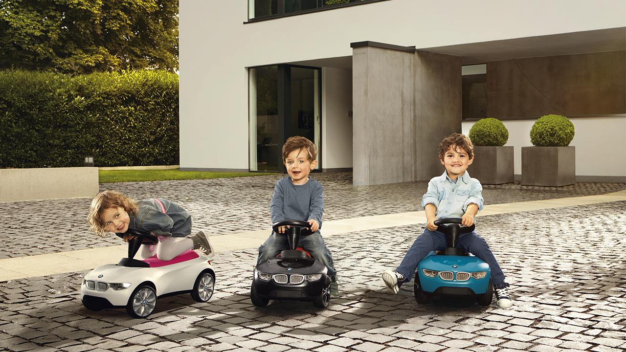 Estas firmas de autos de lujo también los hacen para niños