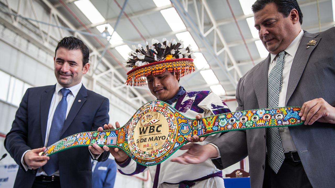El cinturón más valioso en la historia del box