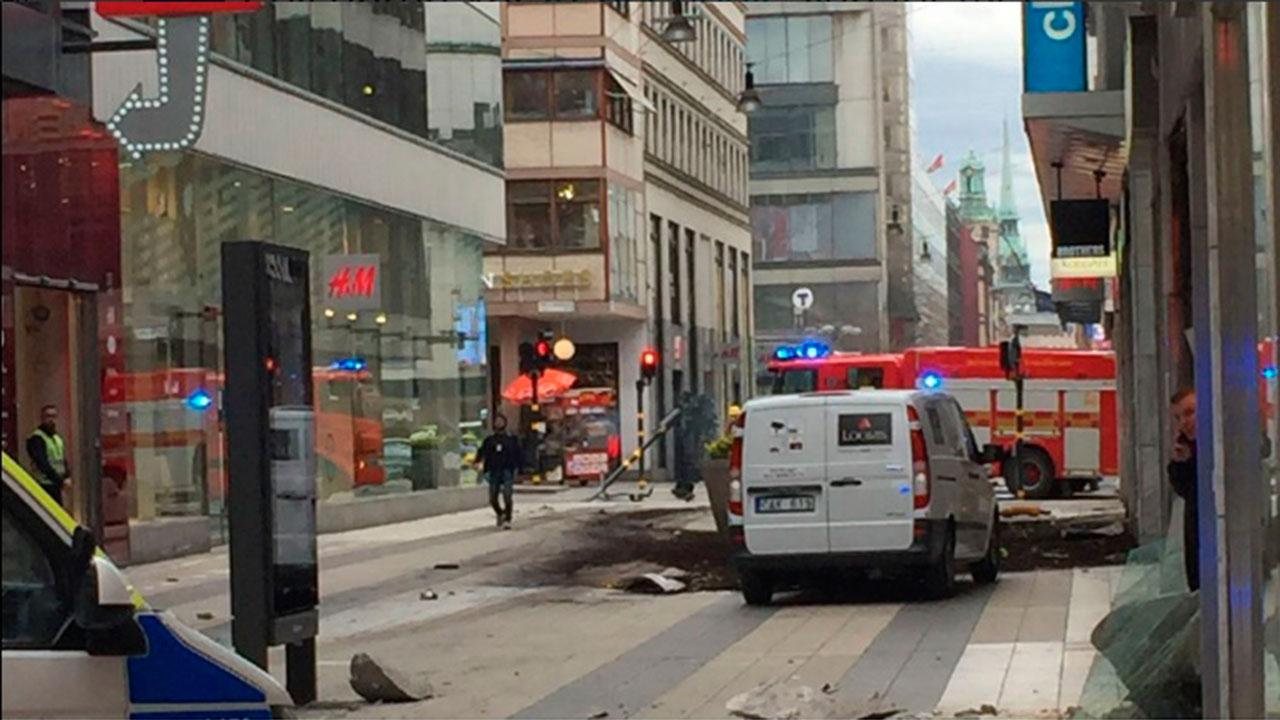 Policía confirma arresto de sospechoso de atentado en Estocolmo