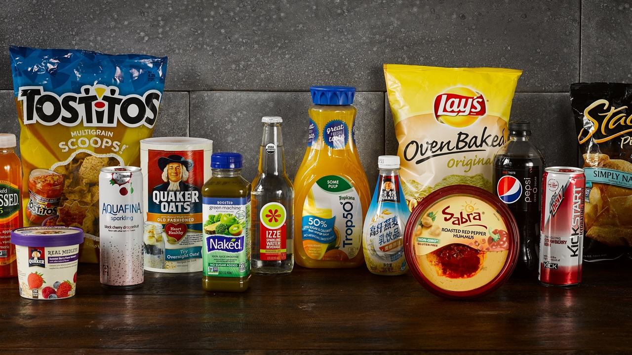 PepsiCo le quita sal y azúcar a sus alimentos y bebidas