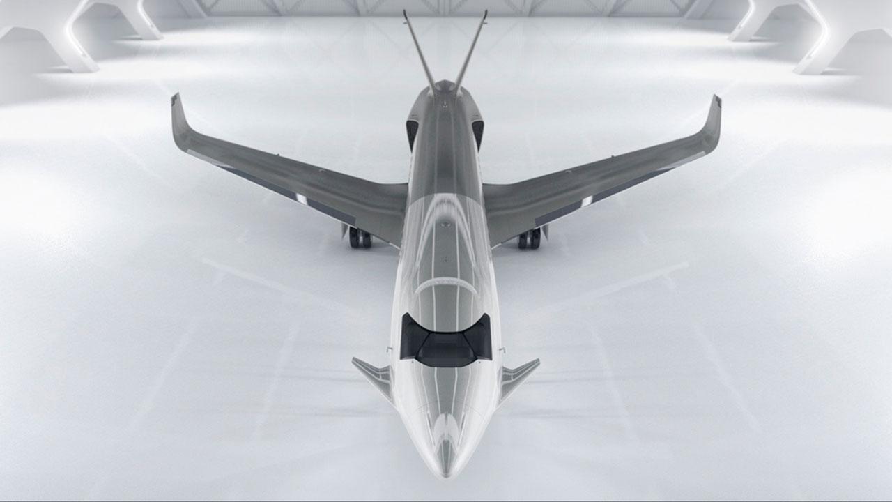 Éste es el concepto de jet ejecutivo 'de combate' de Peugeot