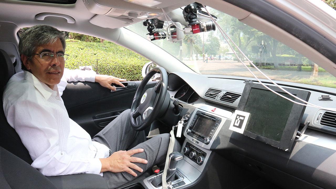 Este mexicano desarrolla autos autónomos desde Berlín