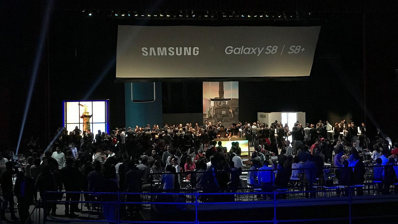 Samsung trae a México su nuevo Galaxy S8