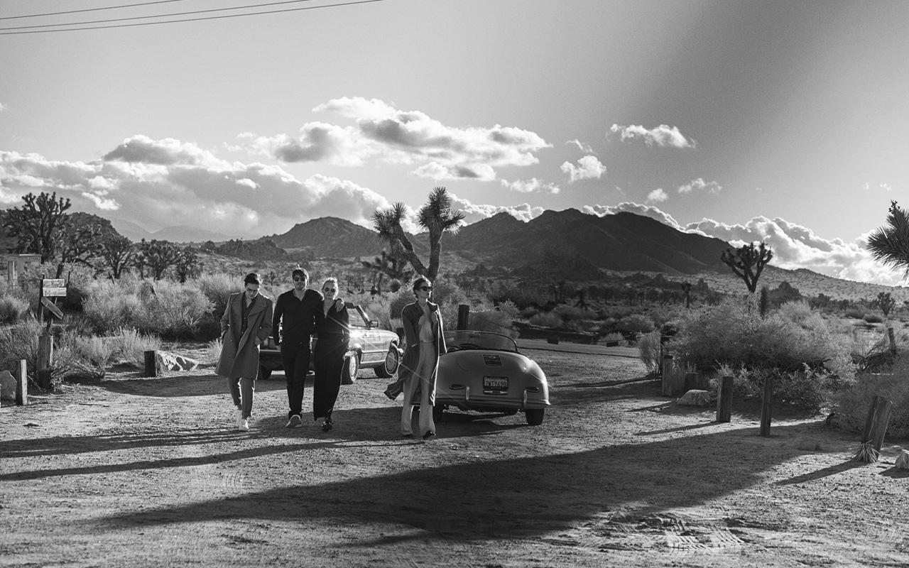 El lujo en el desierto según Peter Lindbergh