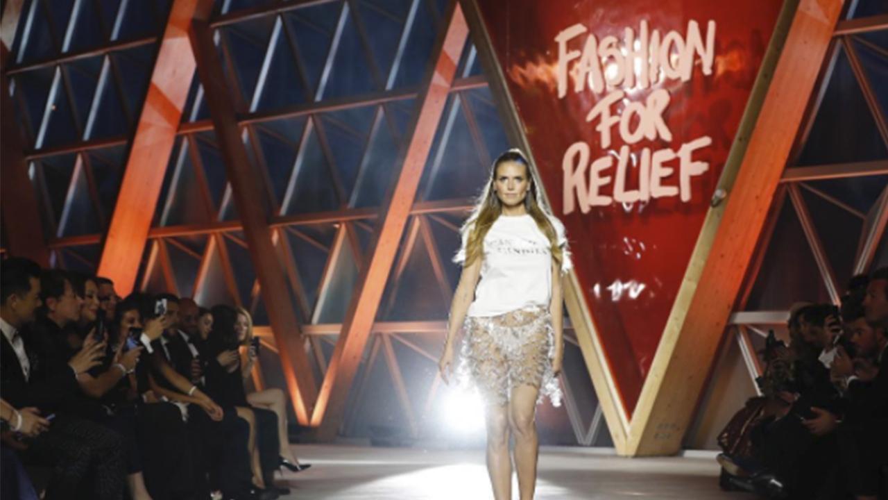 Cannes apuesta por la caridad a través de la moda