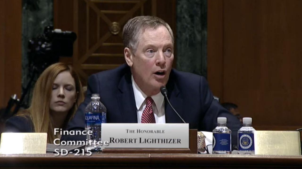 No hay plazo para concluir renegociación del TLCAN: Lighthizer