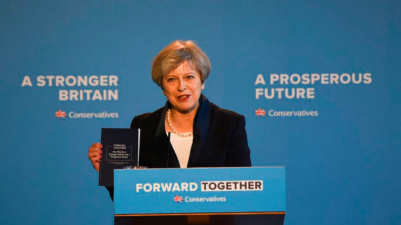 Theresa May: el reto de convencer con su Brexit