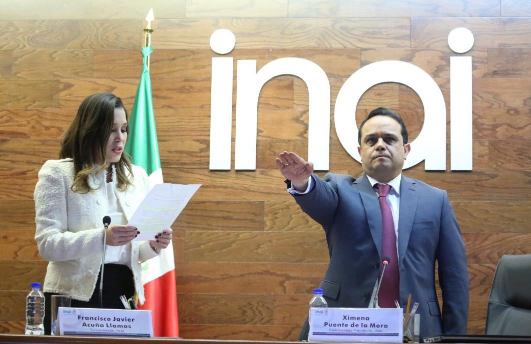 Francisco Acuña Llamas, nuevo presidente del INAI