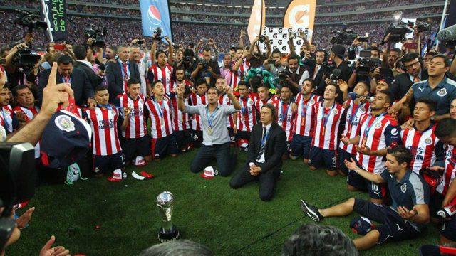 Almeyda sacó campeón a Chivas tras 11 años de sequía