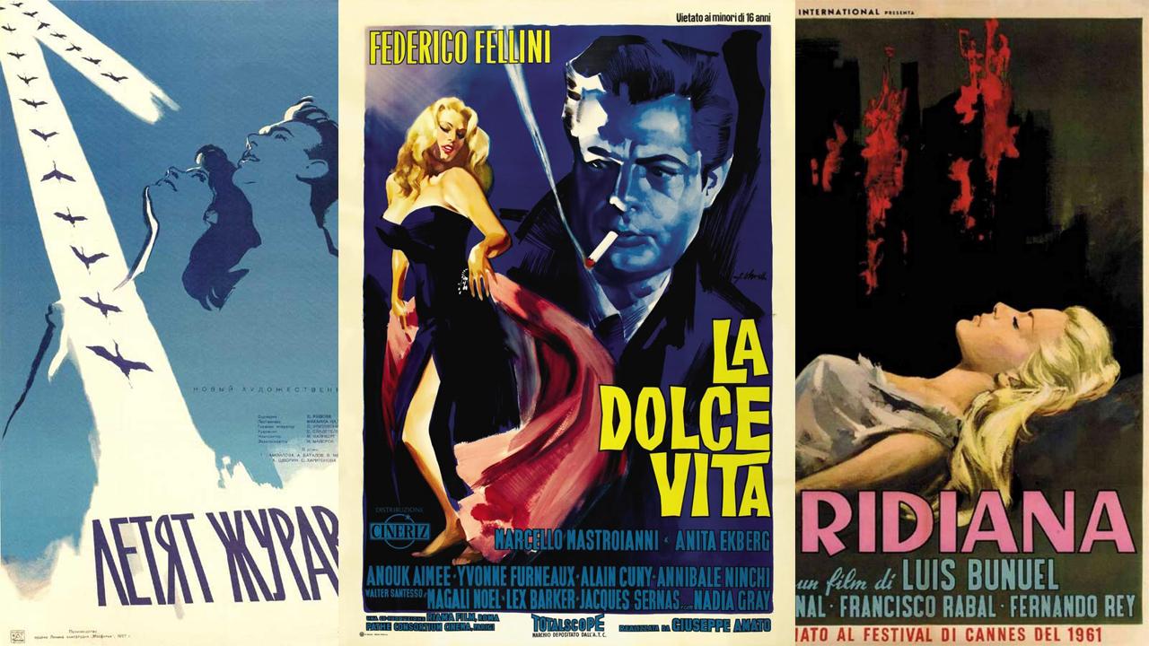Las películas premiadas de Cannes a través del tiempo…