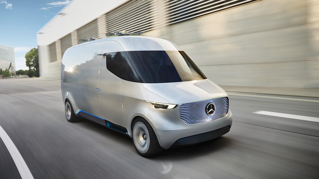Así luce la revolución eléctrica de Mercedes-Benz