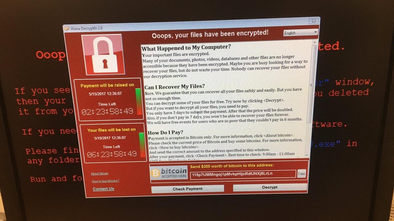 Vacúnate así contra el virus WannaCry