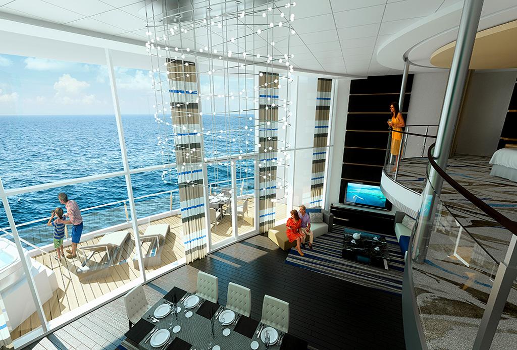 Las 5 suites de crucero más exclusivas