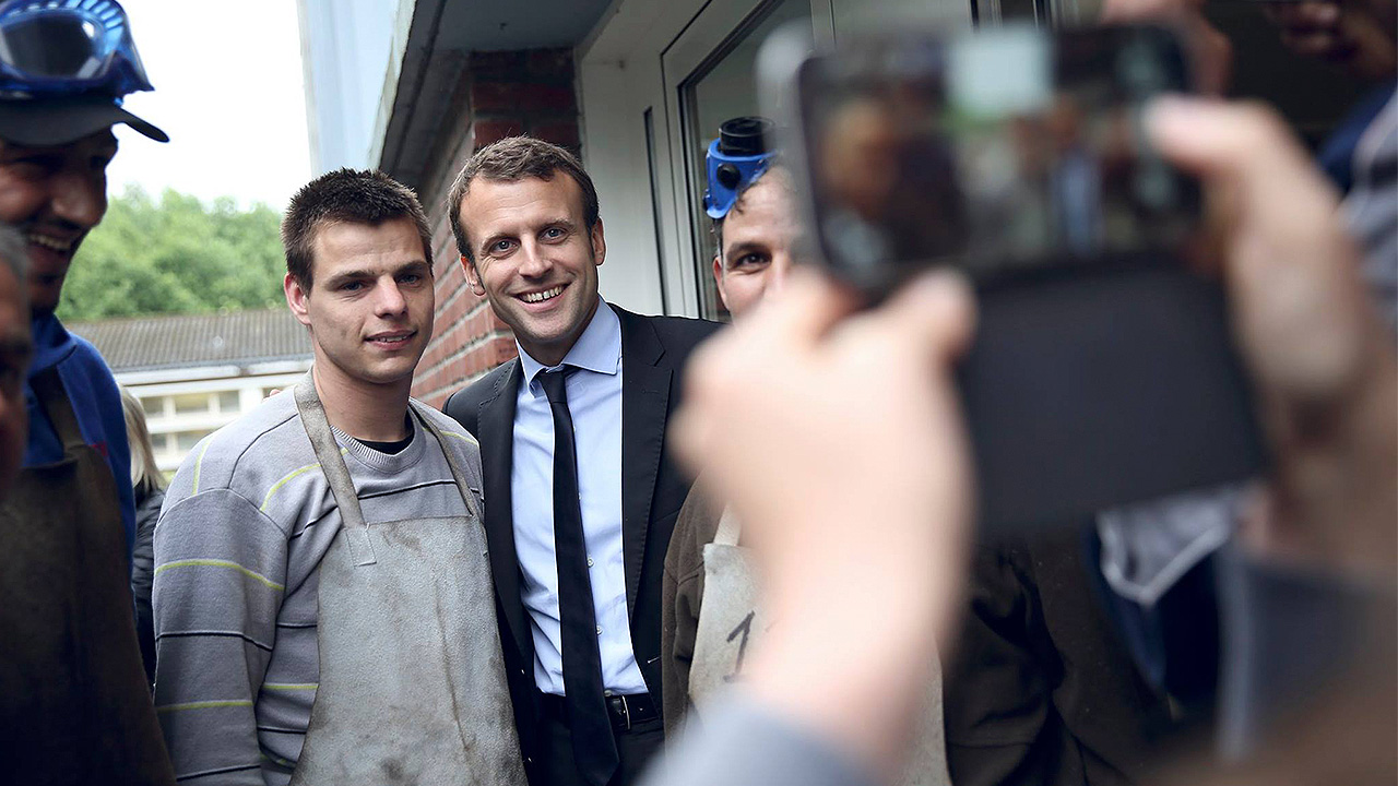 El ascenso de Macron despertará la fiebre por los 'antipolíticos'
